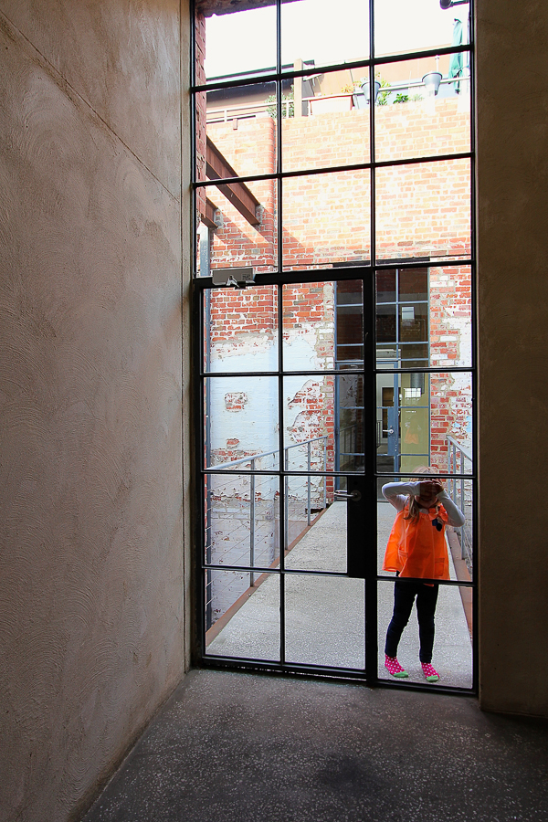 Fiztroy_Isla Peaking Through Steel Door-7290-1