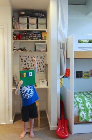 Finlay LEGO Display