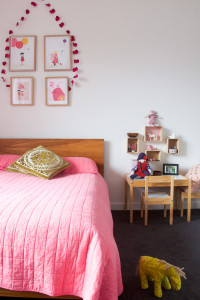 M, D & LL's house - Lucy's Bedroom Pink-2016